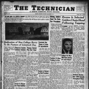 Technician, Vol. 20 No. 30, May 17, 1940
