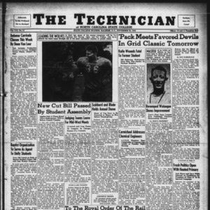 Technician, Vol. 21 No. 11, November 22, 1940