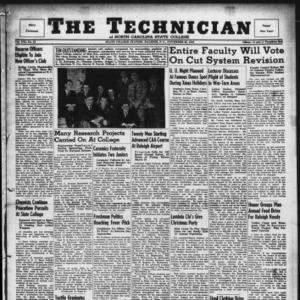 Technician, Vol. 21 No. 12, November 29, 1940