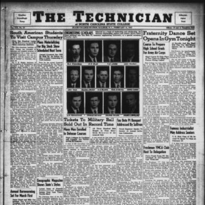 Technician, Vol. 21 No. 18, February 14, 1941