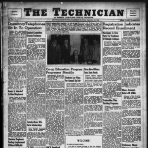 Technician, Vol. 21 No. 1, September 13, 1940