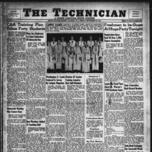 Technician, Vol. 21 No. 2, September 20, 1940