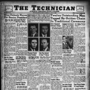 Technician, Vol. 21 No. 29, May 16, 1941