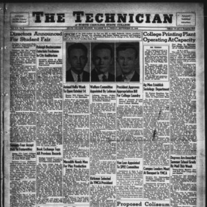 Technician, Vol. 21 No. 3, September 27, 1940