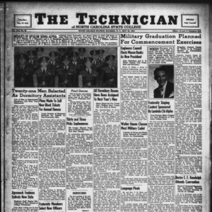 Technician, Vol. 21 No. 30, May 23, 1941