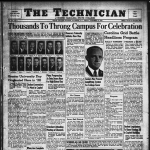 Technician, Vol. 21 No. 6, October 18, 1940