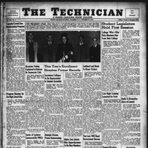 Technician, Vol. 21 No. 7, October 25, 1940