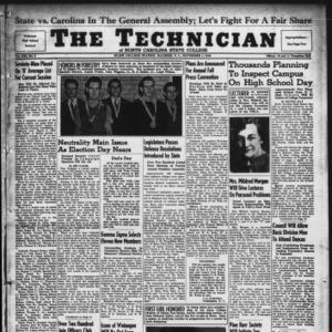 Technician, Vol. 21 No. 8, November 1, 1940
