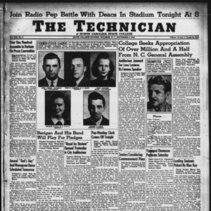 Technician, Vol. 21 No. 9, November 8, 1940