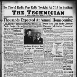 Technician, Vol. 22 No. 10, November 21, 1941