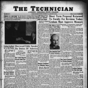 Technician, Vol. 22 No. 15, January 23, 1942