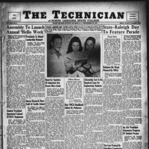 Technician, Vol. 22 No. 2, September 26, 1941