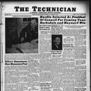 Technician, Vol. 22 No. 22, March 27, 1942