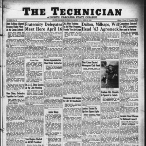 Technician, Vol. 22 No. 23, April 3, 1942