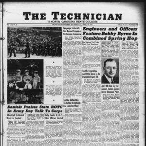 Technician, Vol. 22 No. 24, April 10, 1942
