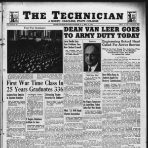 Technician, Vol. 22 No. 29, May 15, 1942