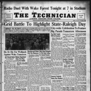 Technician, Vol. 22 No. 5, October 17, 1941