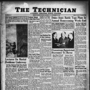 Technician, Vol. 22 No. 9, November 14, 1941