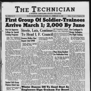 Technician, Vol. 23 No. 16, February 12, 1943