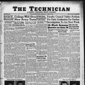 Technician, Vol. 23 No. 23, April 23, 1943