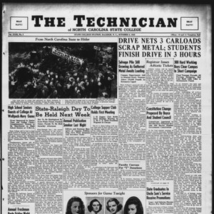 Technician, Vol. 23 No. 3, October 9, 1942