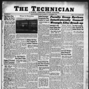 Technician, Vol. 23 No. 7, November 6, 1942