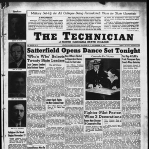 Technician, Vol. 23 No. 8, November 13, 1942