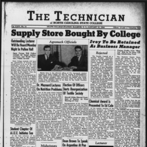 Technician, Vol. 24 No. 14, January 21, 1944