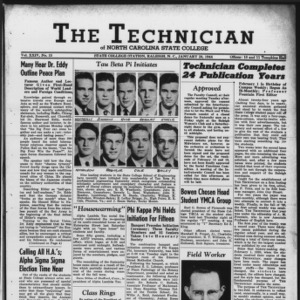 Technician, Vol. 24 No. 15, January 28, 1944