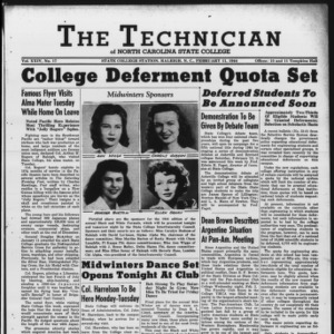 Technician, Vol. 24 No. 17, February 11, 1944