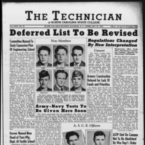 Technician, Vol. 24 No. 19, February 25, 1944