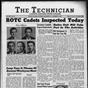 Technician, Vol. 24 No. 20, March 3, 1944