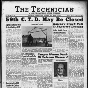 Technician, Vol. 24 No. 23, April 7, 1944