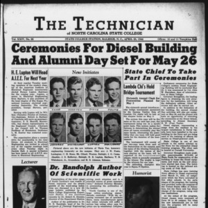 Technician, Vol. 24 No. 26, April 28, 1944