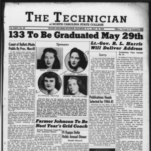 Technician, Vol. 24 No. 29, May 19, 1944