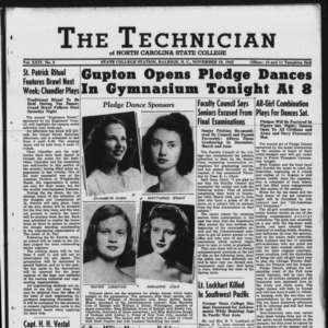 Technician, Vol. 24 No. 8, November 19, 1943