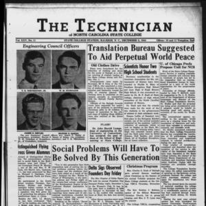Technician, Vol. 25 No. 11, December 8, 1944