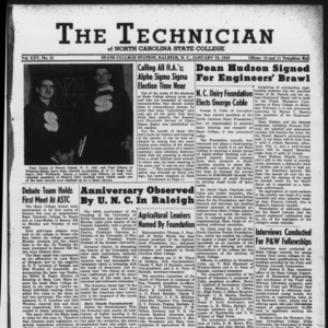 Technician, Vol. 25 No. 14, January 19, 1945