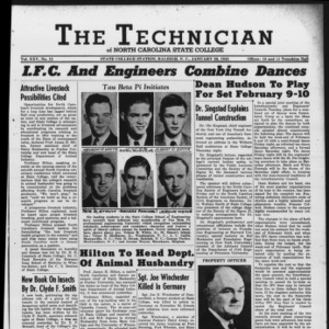 Technician, Vol. 25 No. 15, January 26, 1945
