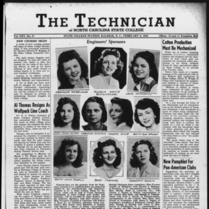 Technician, Vol. 25 No. 17, February 9, 1945