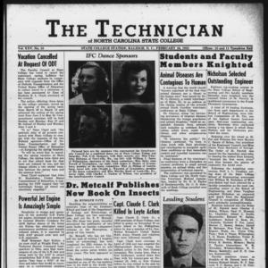 Technician, Vol. 25 No. 18, February 16, 1945