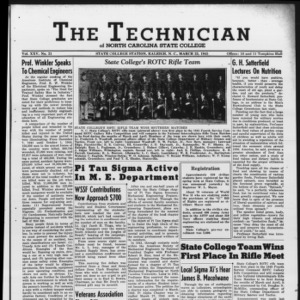 Technician, Vol. 25 No. 21, March 23, 1945