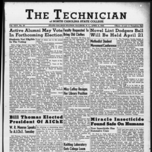 Technician, Vol. 25 No. 23, April 6, 1945