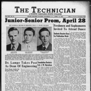 Technician, Vol. 25 No. 24, April 13, 1945