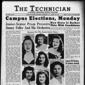 Technician, Vol. 25 No. 26, April 27, 1945