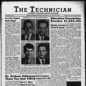 Technician, Vol. 25 No. 29, May 18, 1945