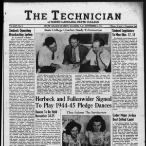 Technician, Vol. 25 No. 6, November 3, 1944