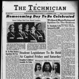 Technician, Vol. 25 No. 8, November 17, 1944
