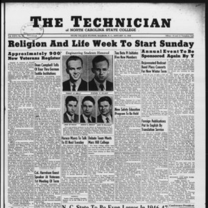 Technician, Vol. 26 No. 12, January 11, 1946