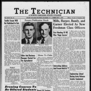 Technician, Vol. 26 No. 15, February 1, 1946